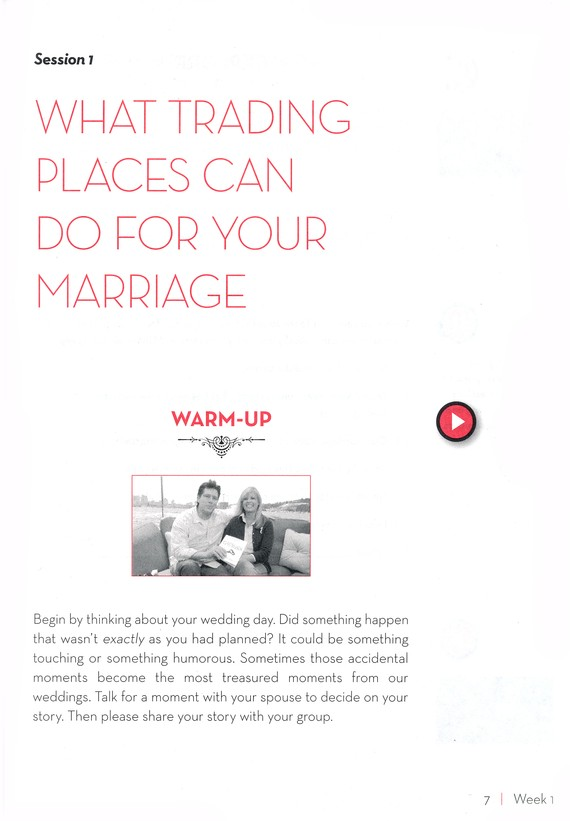 The Secret to the Marriage You Want - Member Book w/Leader Helps