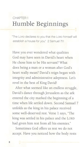 Seeking a Heart Like His: Lessons from David Booklet