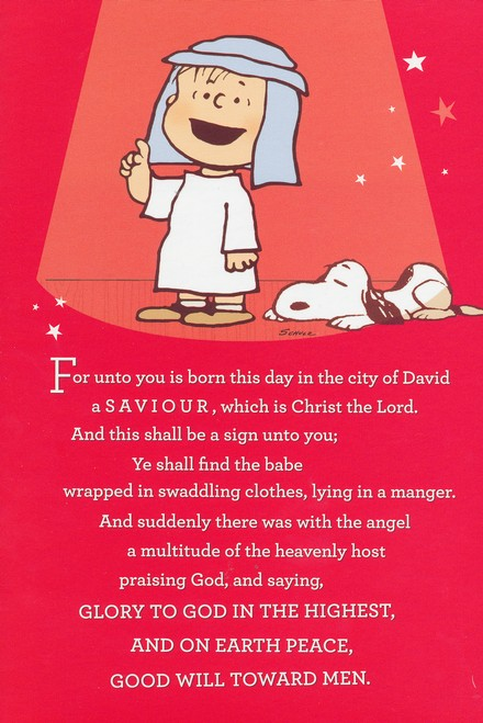 That S What Christmas Is About Peanuts Cards Box Of 18 Christianbook Com