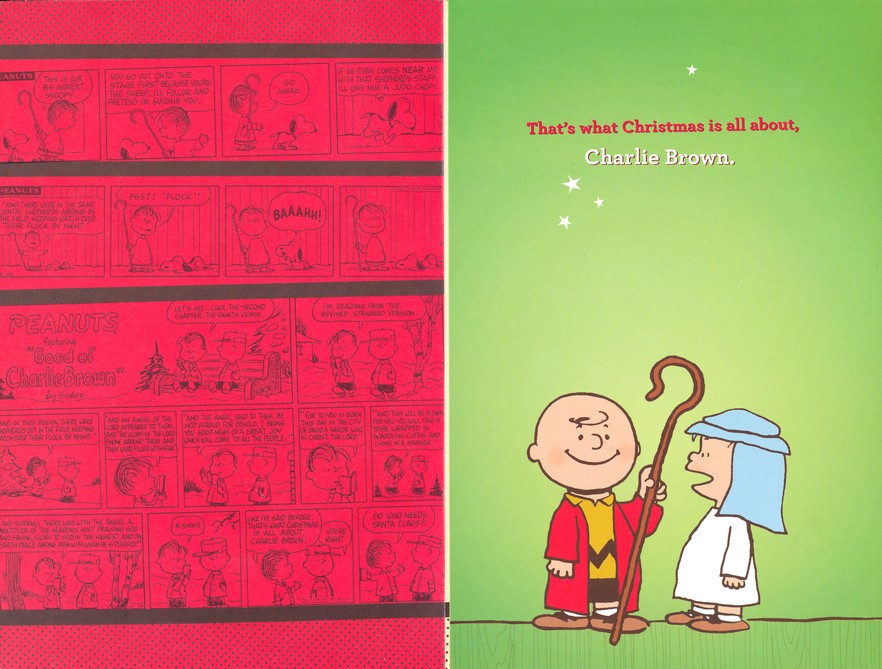 That\'s What Christmas is About, Peanuts Cards, Box of 18 ...