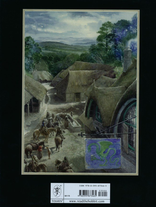 The Hobbit, Sixtieth Anniversary Edition, Illustrated by Alan Lee