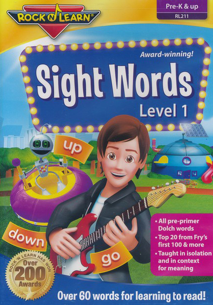 Sight Words DVD