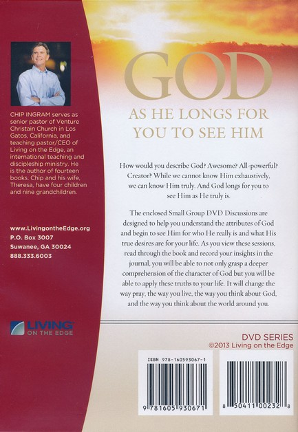 God As He Longs For You To See Him DVD Set