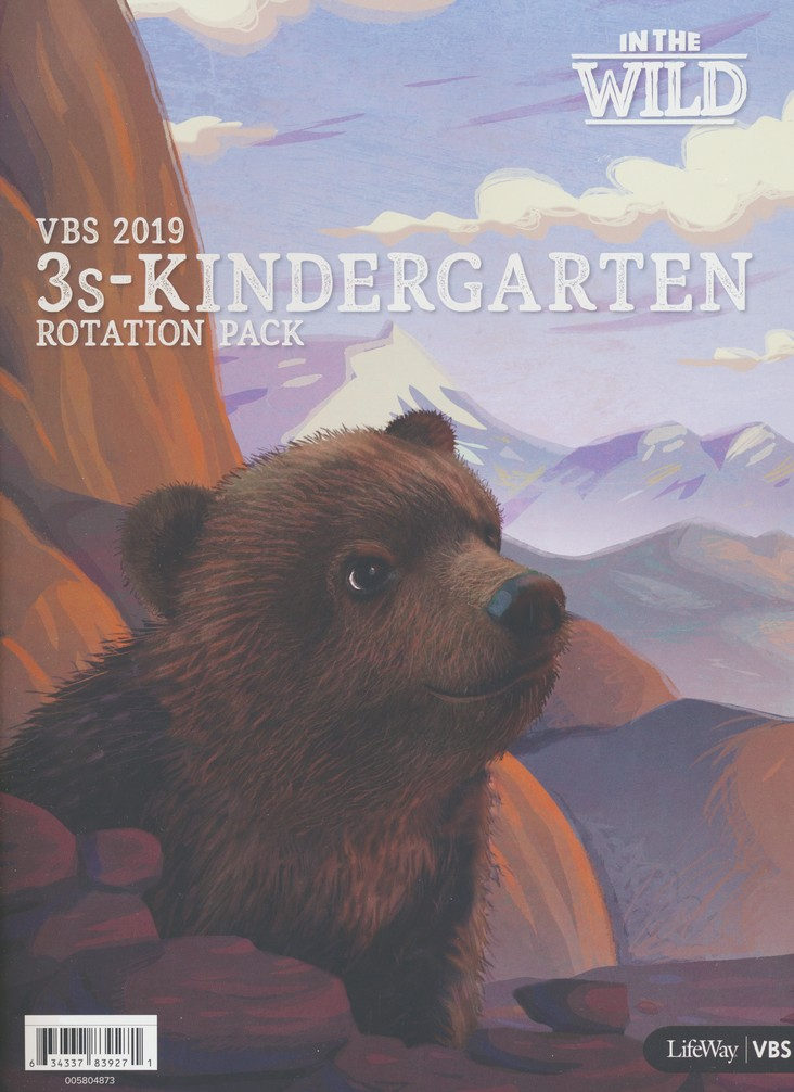 In The Wild: 3s - Kindergarten Rotation Pack