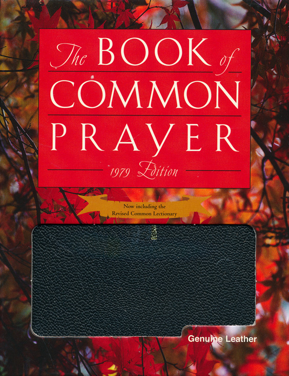 1979 Book of Common Prayer Personal Edition black Genuine Leather