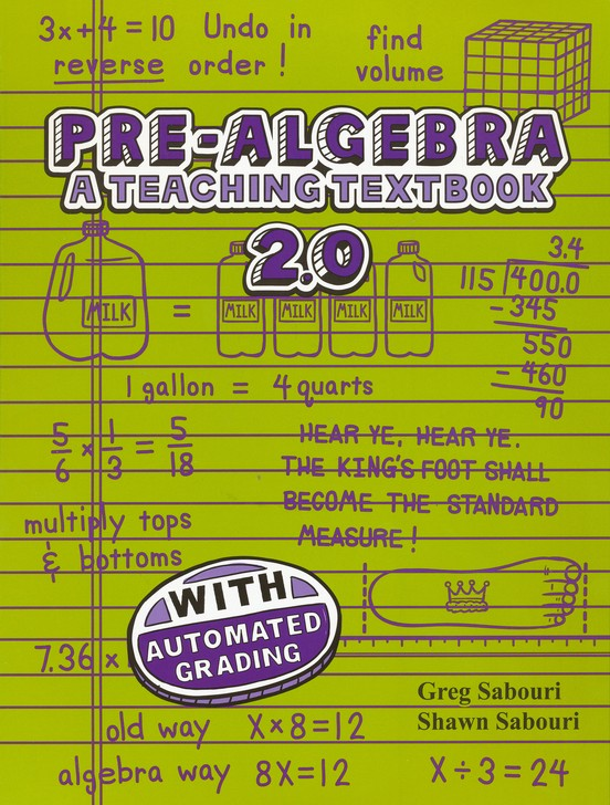 Teaching Textbooks Pre-Algebra CD-Rom Set, Version 2.0