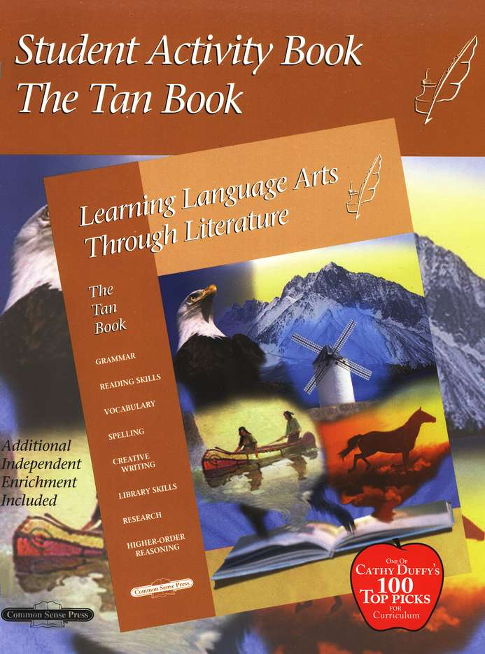 Learning Language Arts Through Literature, Grade 6, Activity Tan