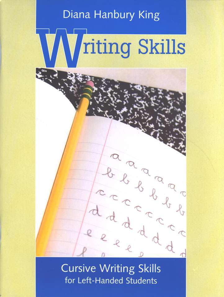 Cursive Writing Skills, Left-Handed Students