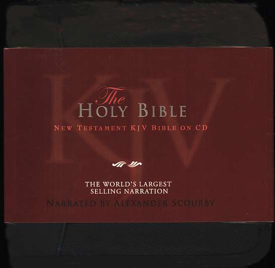 KJV New Testament                                       - Audiobook on CD