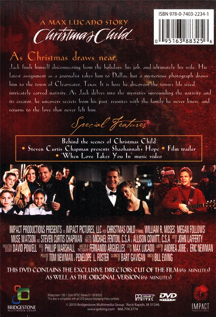 Christmas Child, Director's Cut Edition