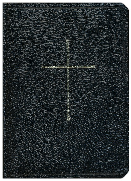 1979 Book of Common Prayer & NRSV Bible with the Apocrypha--genuine leather, black