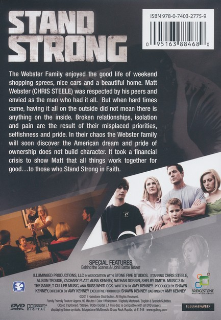 Stand Strong, DVD