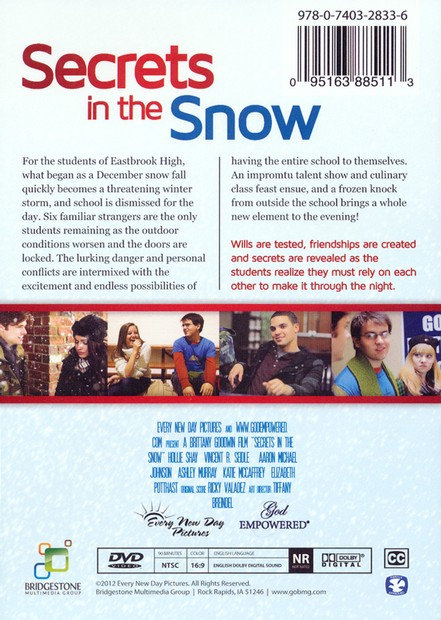 Secrets in the Snow, DVD