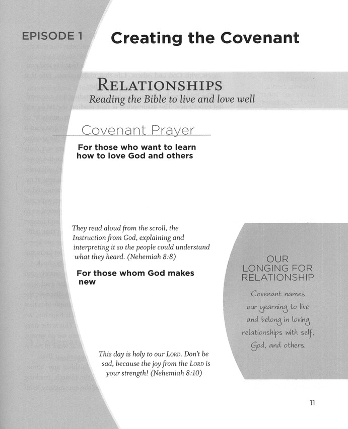 Covenant Bible Study: Creating - Participant Guide, Large Print