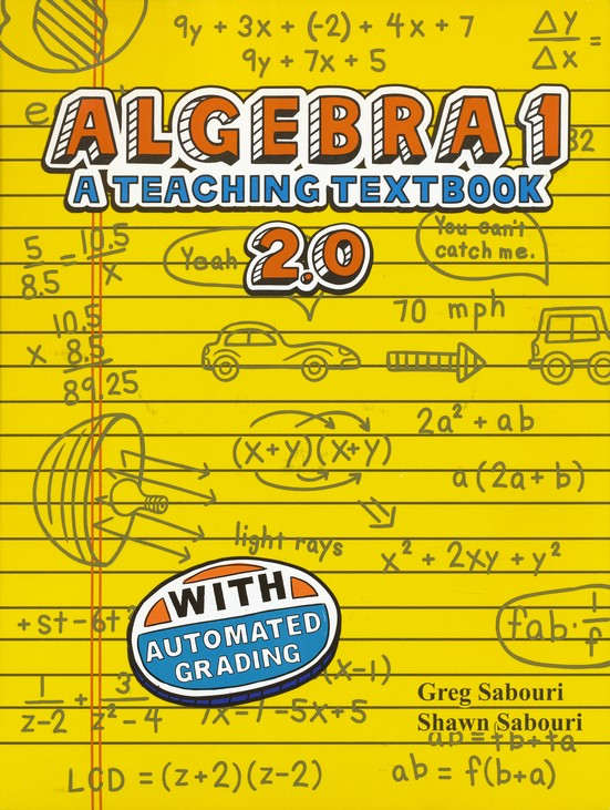 Teaching Textbooks Algebra 1 CD-Rom Set, Version 2.0