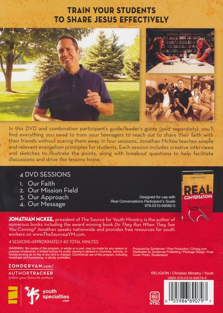 Real Conversations: A DVD Study: Sharing Your Faith Without Being Pushy