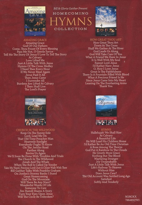 Homecoming Hymns Collection, 4-DVD Set