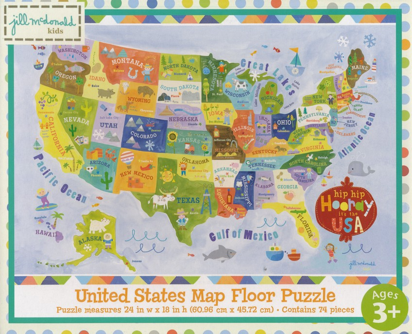 Hip Hip Horray It's the USA Floor Map Puzzle Map Puzzle Of United States on world map puzzle, united states jigsaw puzzle, map of mexico puzzle, map of germany puzzle, map of hawaii puzzle, map of africa puzzle, u s map puzzle, map of ireland puzzle, united states wooden puzzle, map of israel puzzle, map of new york city puzzle, map of jamaica puzzle, map of iowa puzzle, new york united states puzzle, states and capitals puzzle, space puzzle, united states of america puzzle, south america puzzle, europe map puzzle, 50 states map puzzle,