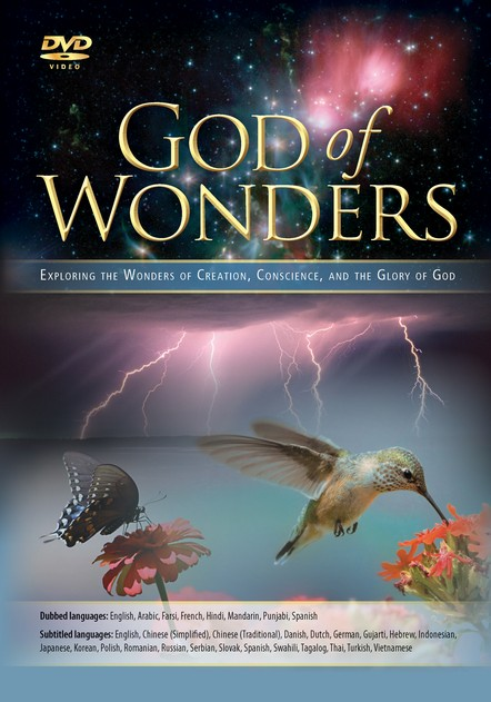 God of Wonders, Multi-Language DVD