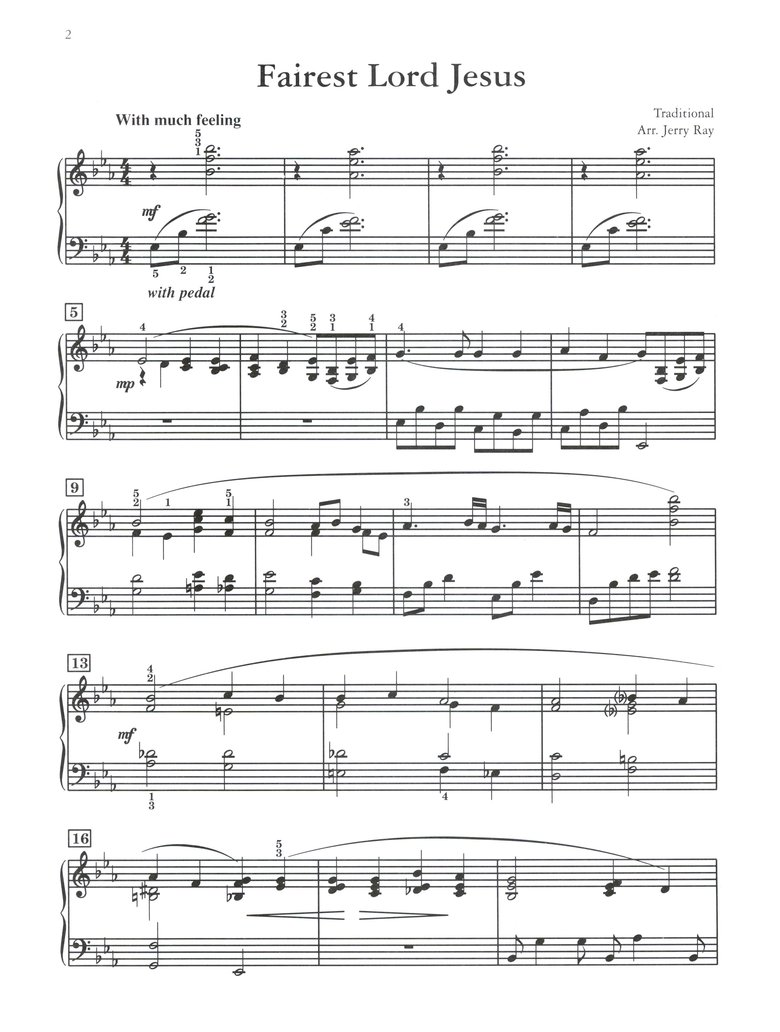 Hymns with Style: 10 Hymn Arrangements for the Intermediate Pianist