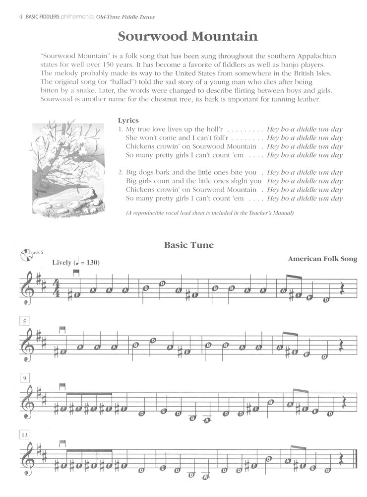 Basic Fiddlers Philharmonic Old Time Fiddle Tunes Book Audio Cd