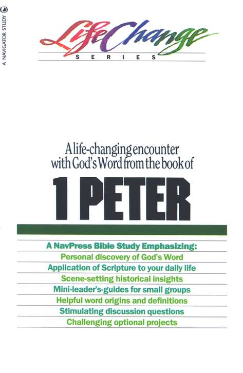 1 Peter, LifeChange Bible Study
