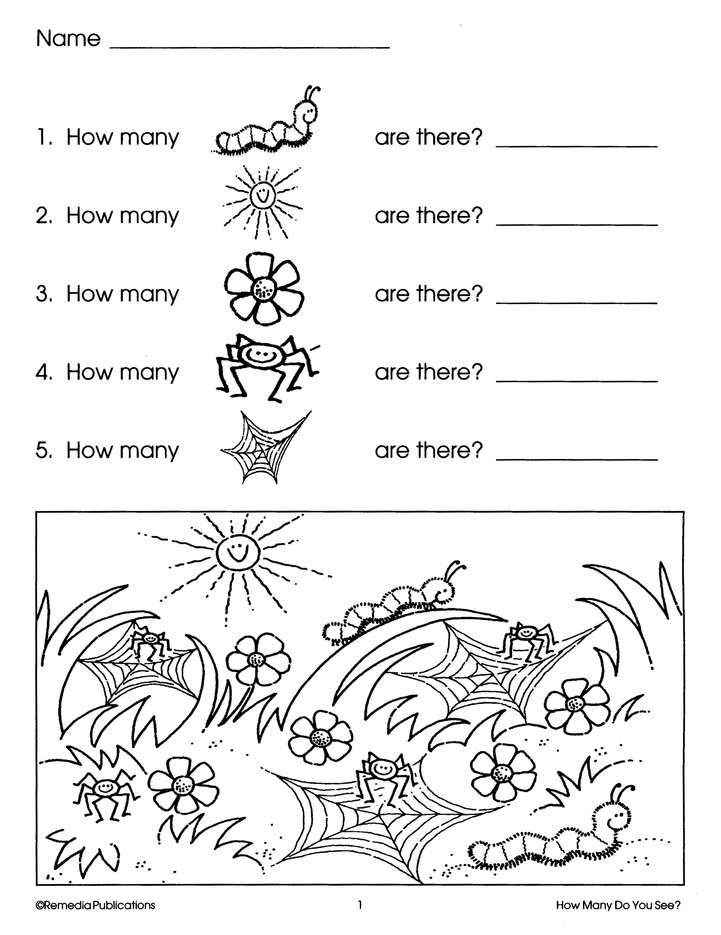 First Steps in Math: How Many Do You See? Grades K-2