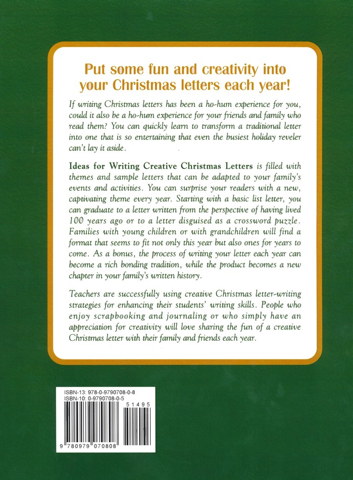Ideas for Writing Creative Christmas Letters That People Are Actually Eager to Read!