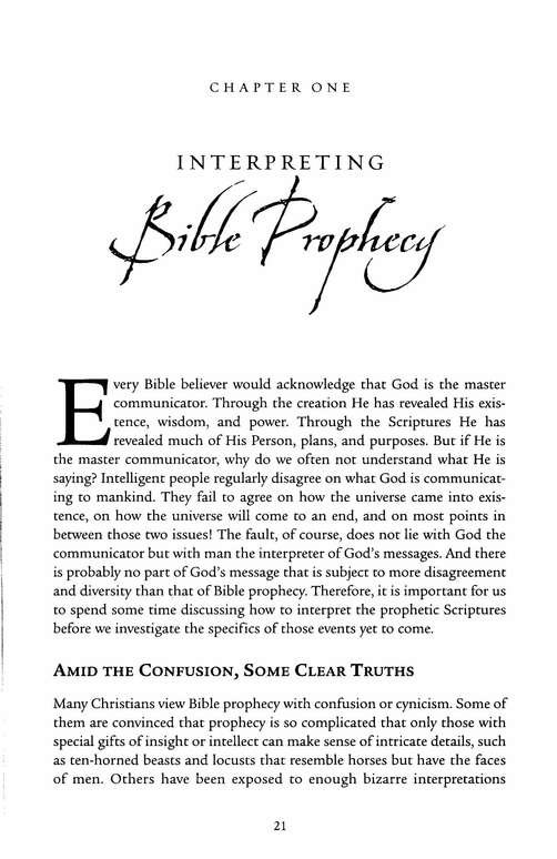 Understanding End-Times Prophecy: A Comprehensive Approach
