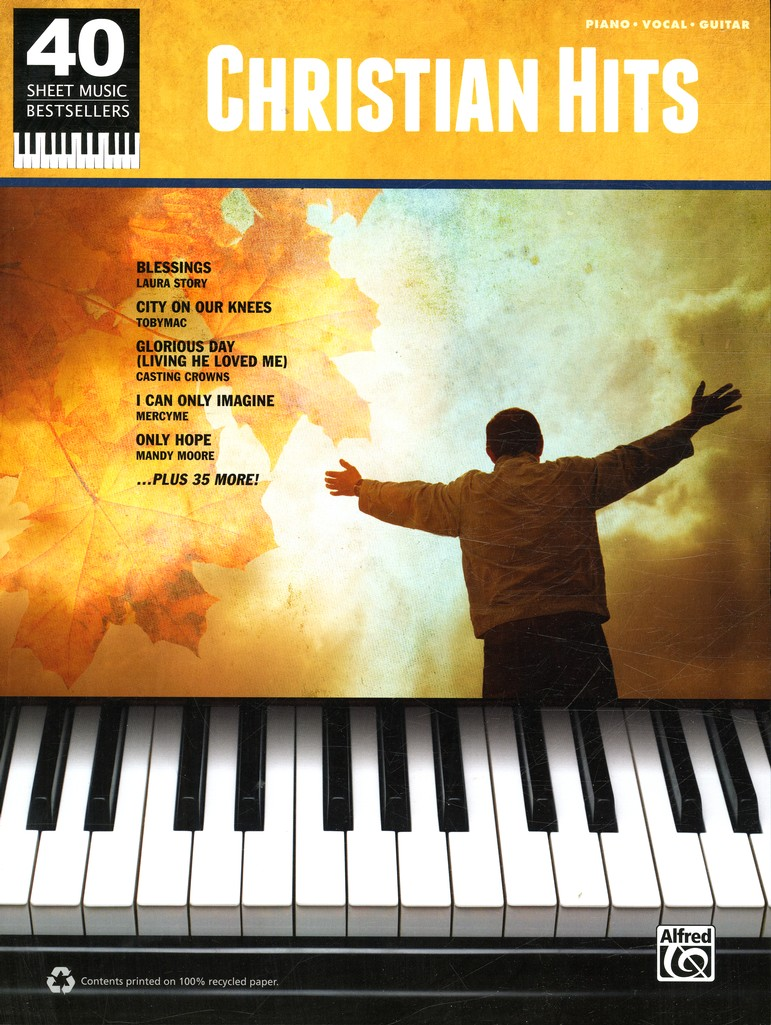 40 Sheet Music Bestsellers: Christian Hits