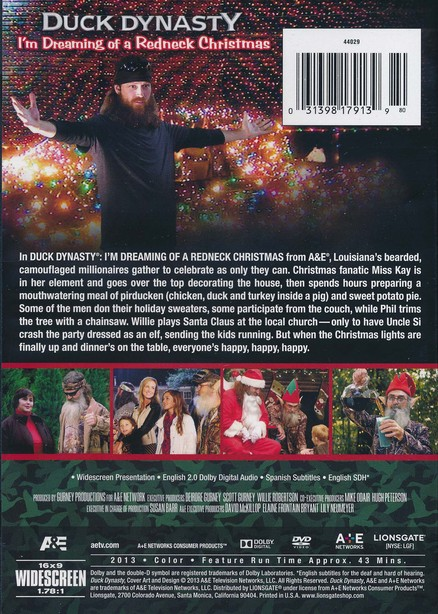 Duck Dynasty Redneck Christmas, DVD