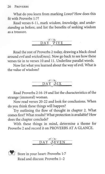 characteristics of proverbs