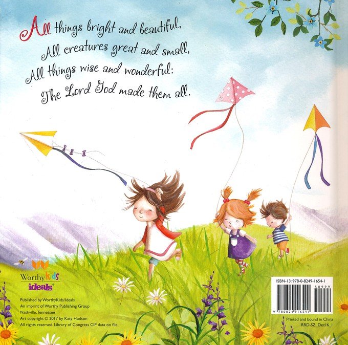 All Things Bright And Beautiful Board Book Cecil Francis Alexander 9780824916541 Christianbook Com