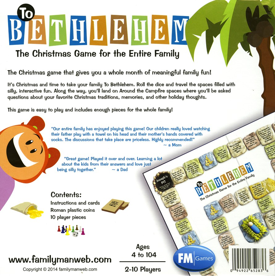 To Bethlehem Game The Christmas For Entire Family Updated Packaging