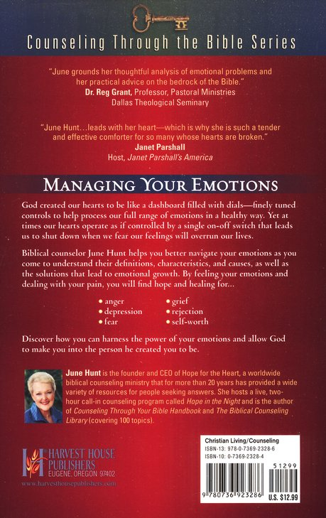 How to Handle Your Emotions: Anger, Depression, Fear, Grief, Rejection, Self-Worth