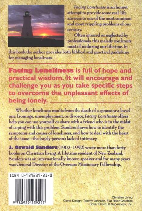 Facing Loneliness: The Starting Point of a New  Journey