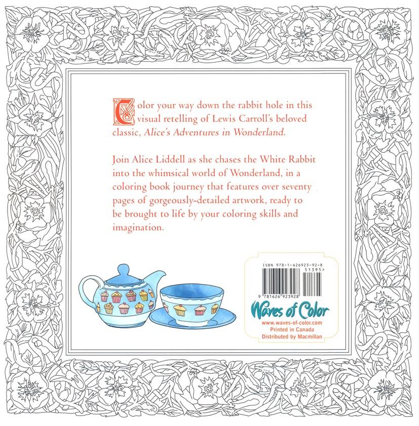 Color The Classics Alice In Wonderland A Curiouser Coloring Book Jae Eun Lee 9781626923928 Christianbook Com