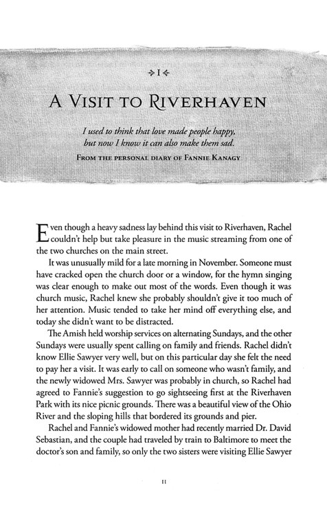 River of Mercy, Riverhaven Years Series #3