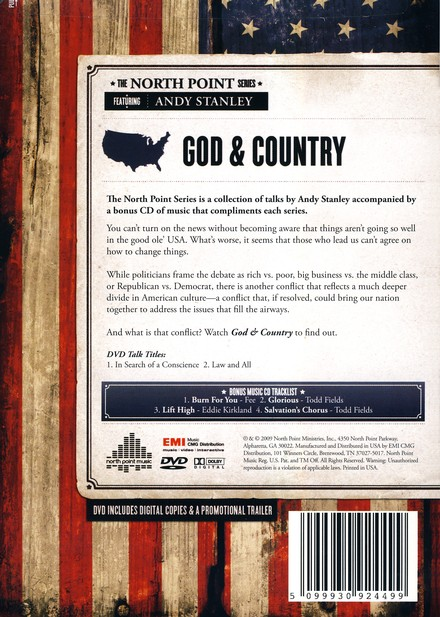 God & Country, DVD