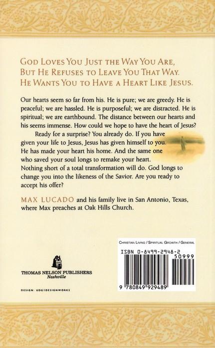 A Heart Like Jesus Max Lucado 9780849929489 Christianbook