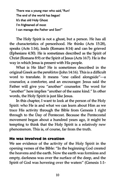 The Holy Spirit Booklet