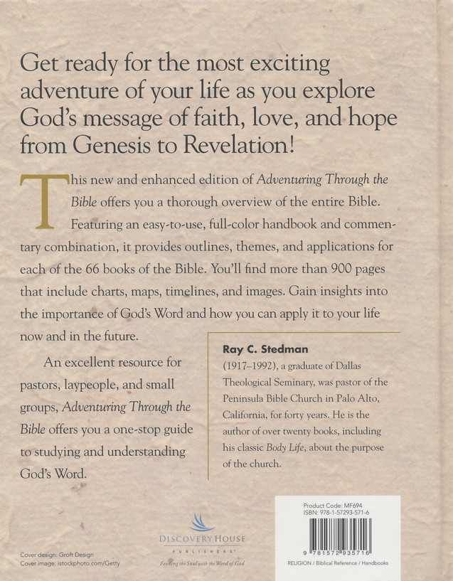 Adventuring Through the Bible: A Comprehensive Guide to the Entire Bible - New Enhanced Edition