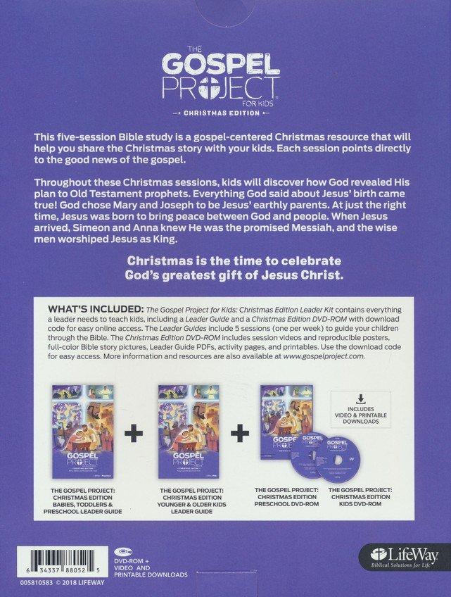 Gospel Project Christmas Dvd Lesson 2021