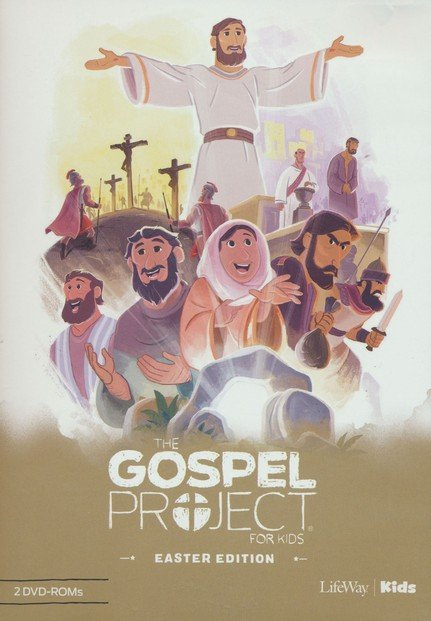 Gospel Project Christmas Dvd Lesson 2020 The Gospel Project for Kids: Easter Edition DVD Leader Kit