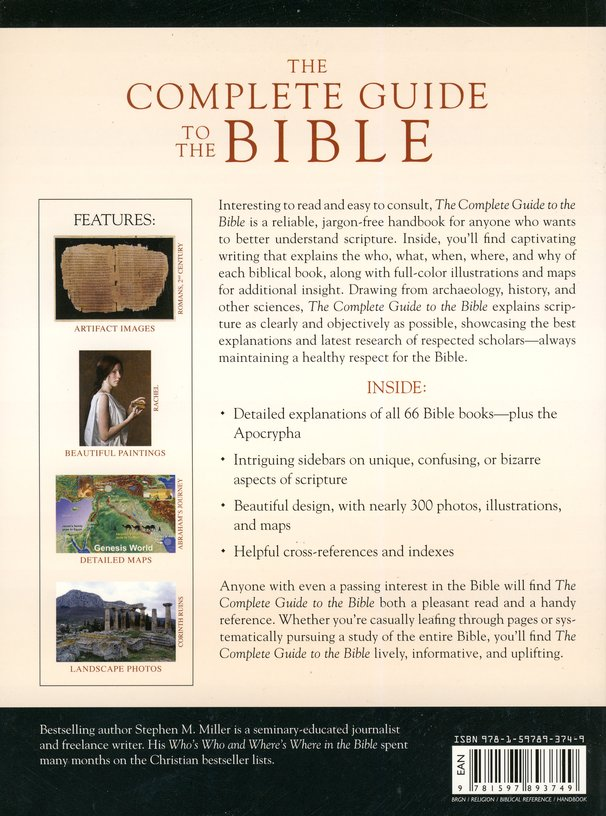 The Complete Guide To The Bible Stephen M Miller 9781597893749 Christianbook Com