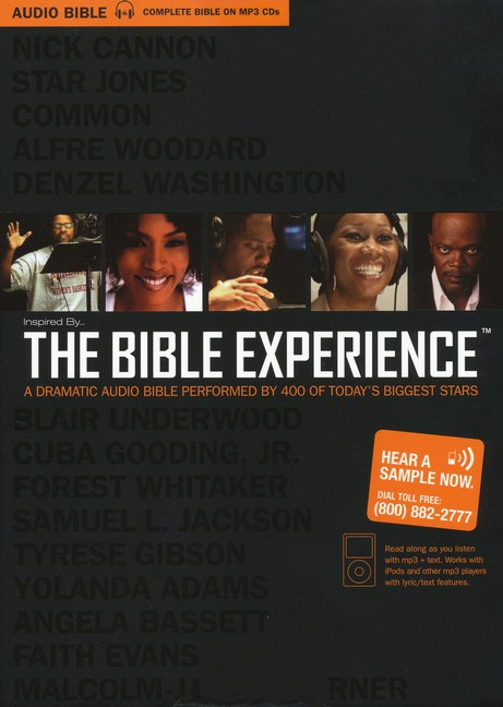 Inspired By ...The Bible Experience: The Complete Bible MP3, Audio and Text