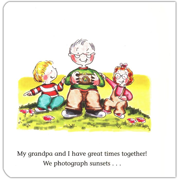 My Grandpa and I, Board Book