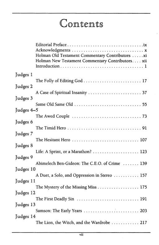 Judges & Ruth: Holman Old Testament Commentary  [HOTC]
