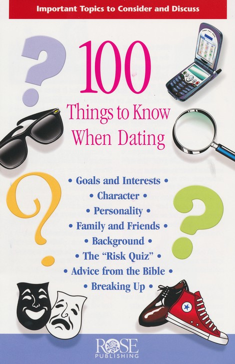 100 Things to Know When Dating, Pamphlet - 5 Pack
