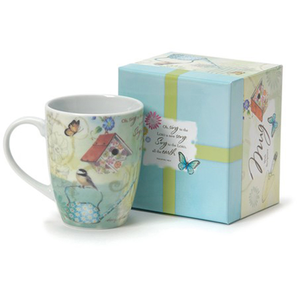 Garden Blooms, Mug With Gift Box